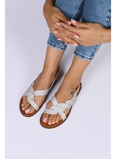 Female Project Outdoor Sandalet Mavi